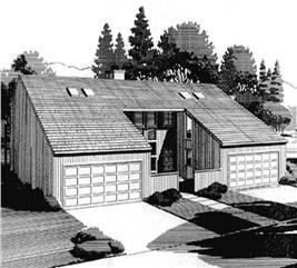House Plan #146-1802