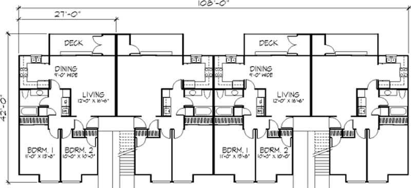 multi unit house plans home design ls h 5931 a8 multi unit house plans home design ls b 92044