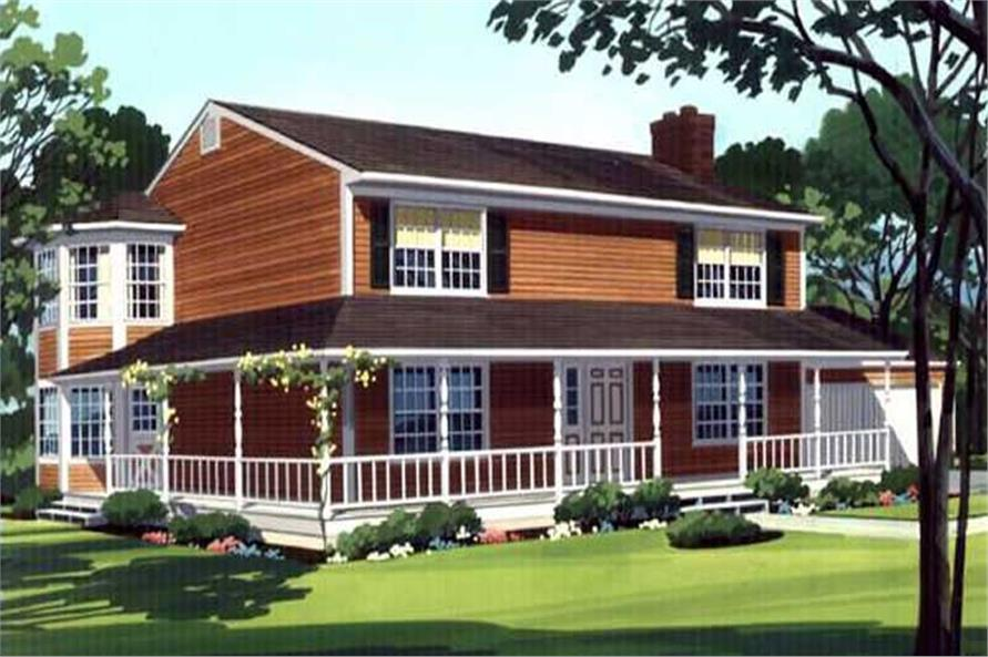 Color Rendering to this house.