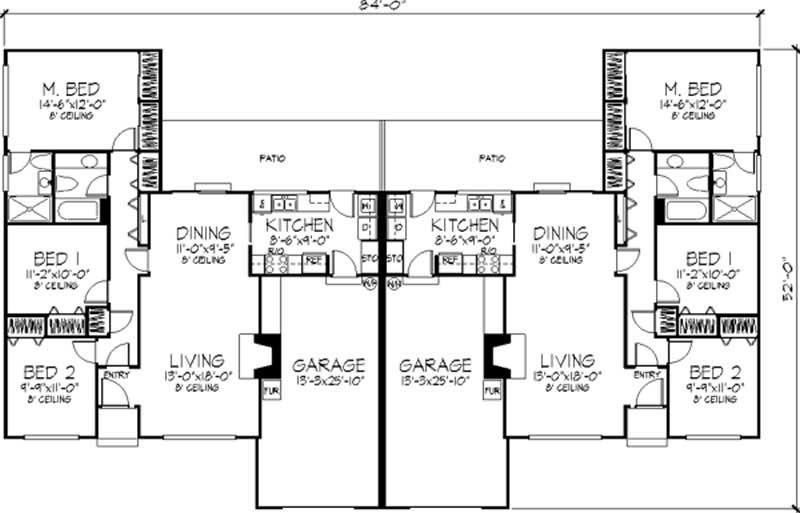 multi unit plans ideas house plans 50142 family house floor plans multi family homes floor plans