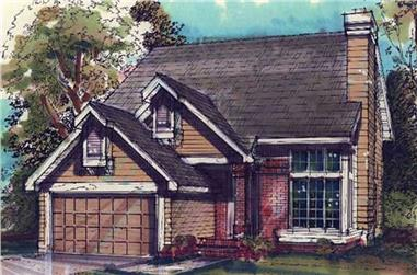 2-Bedroom, 1819 Sq Ft Country House Plan - 146-1817 - Front Exterior