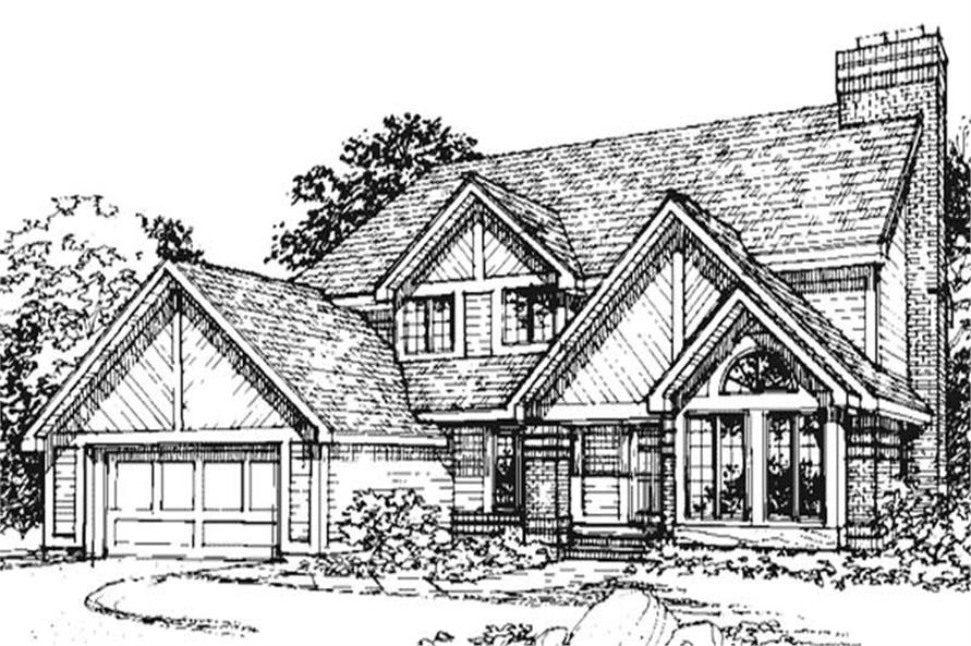 This image shows the Traditional/Country/Ranch Style House Plans.