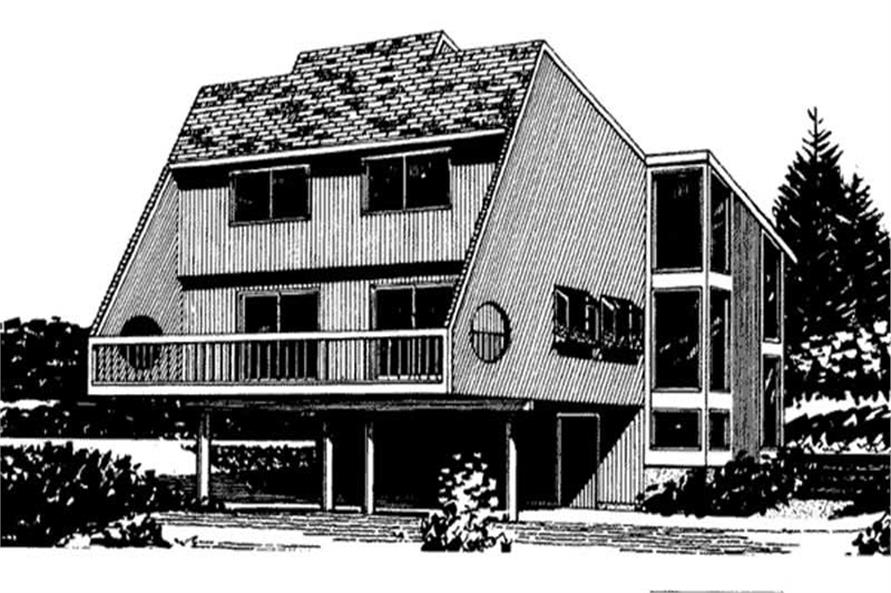 Front Elevation for this house plan
