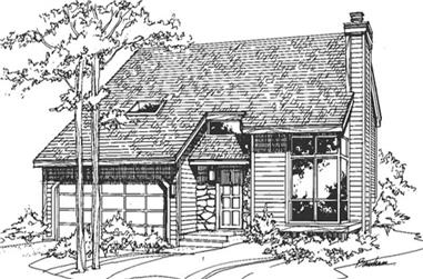 2-Bedroom, 1701 Sq Ft Contemporary Home Plan - 146-1851 - Main Exterior