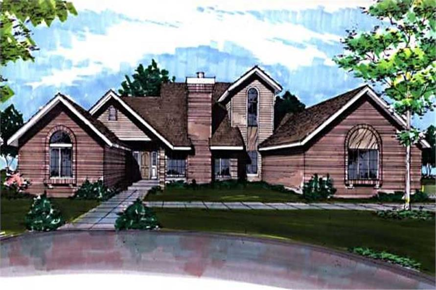 This image shows the Specialty Style of this house plan.