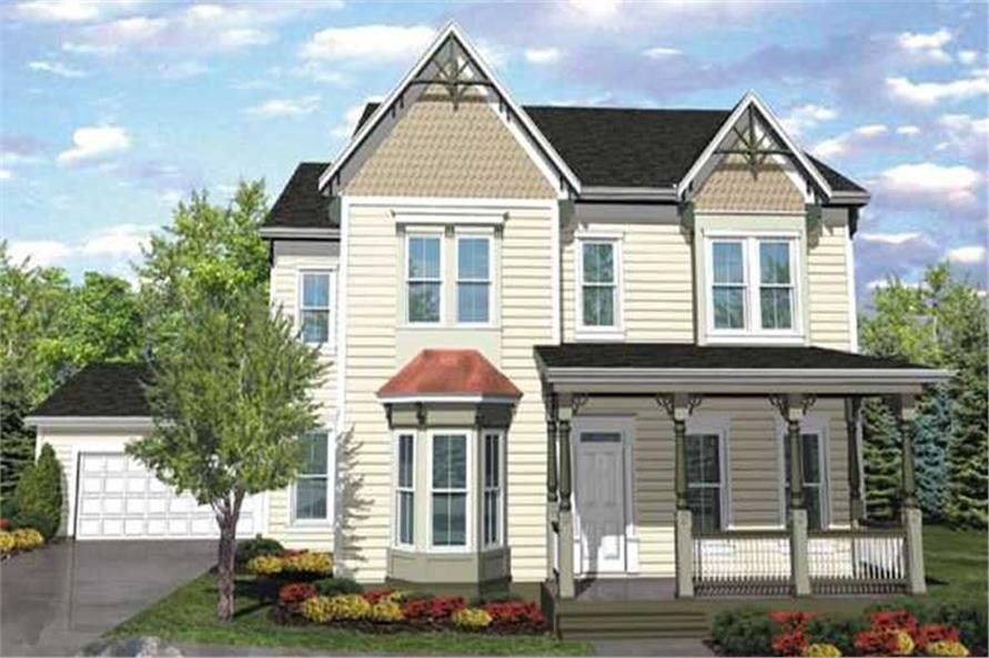 Main image for house plan # 20604