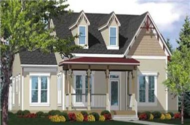 3-Bedroom, 2360 Sq Ft Country House Plan - 146-1882 - Front Exterior