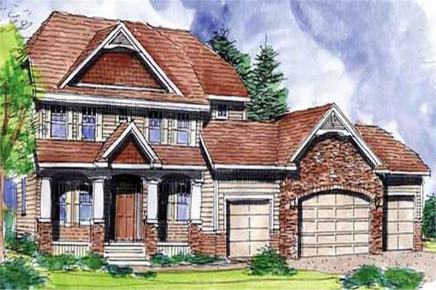 Main image for house plan # 20585
