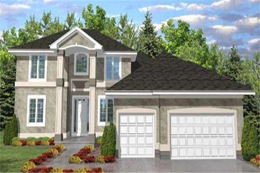 Main image for house plan # 20661