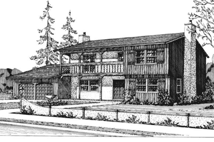 Main image for house plan # 20646