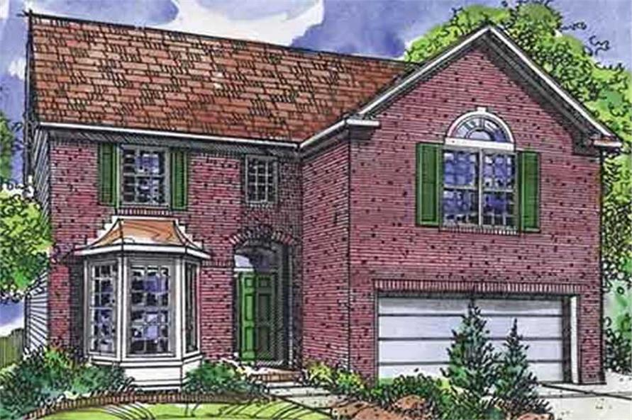 Main image for house plan # 21328