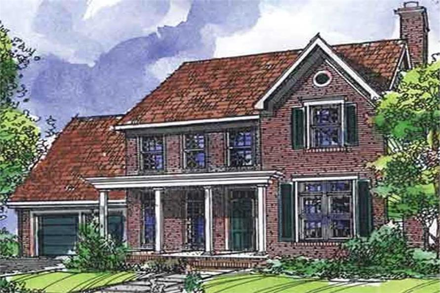 Main image for house plan # 21322