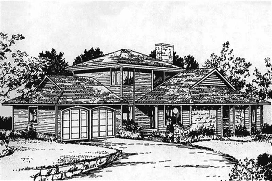 Main image for house plan # 21326