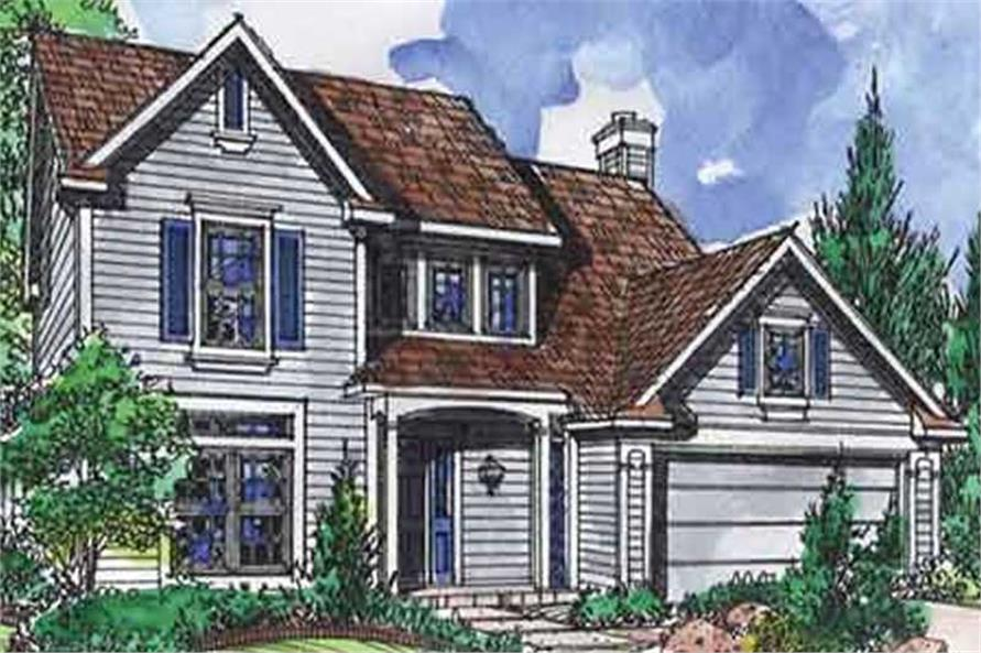 Main image for house plan # 21342