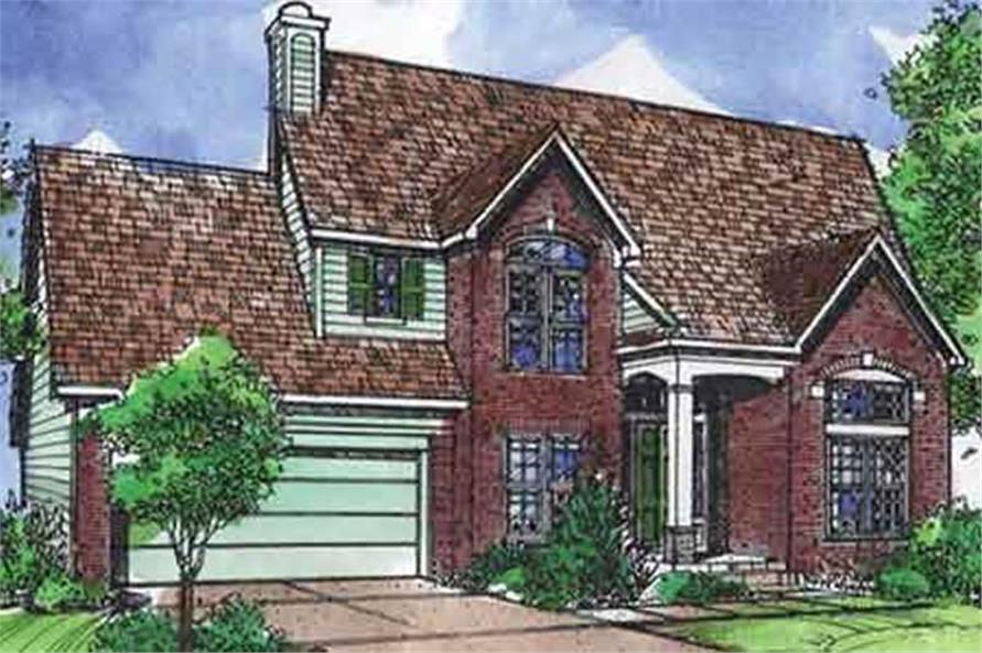 Main image for house plan # 21343