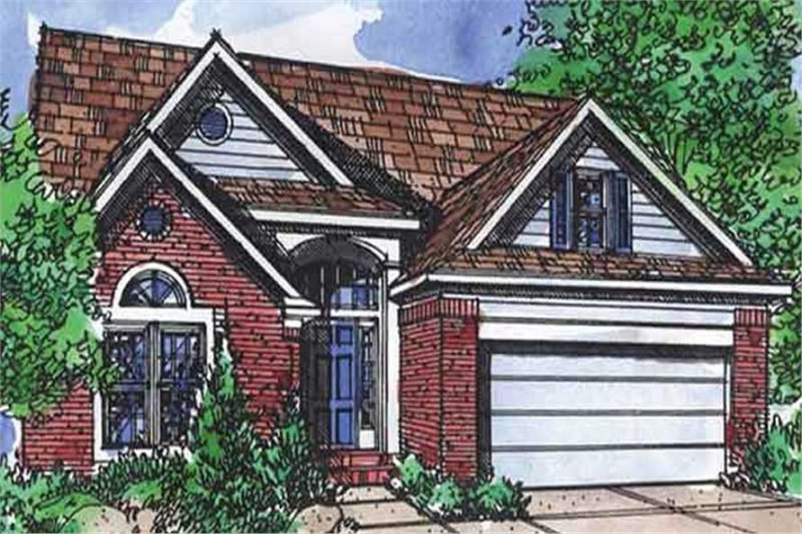 Main image for house plan # 21345