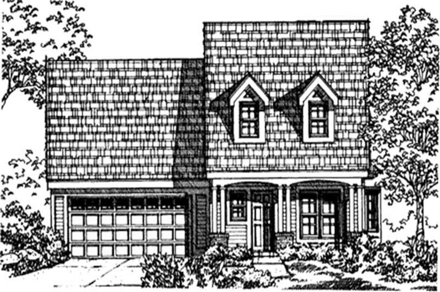 Main image for house plan # 21324