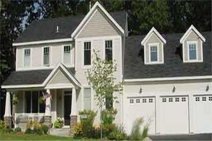 3-Bedroom, 2854 Sq Ft Country House Plan - 146-1928 - Front Exterior