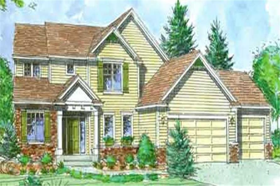 Front Elevation LS-2205-HB