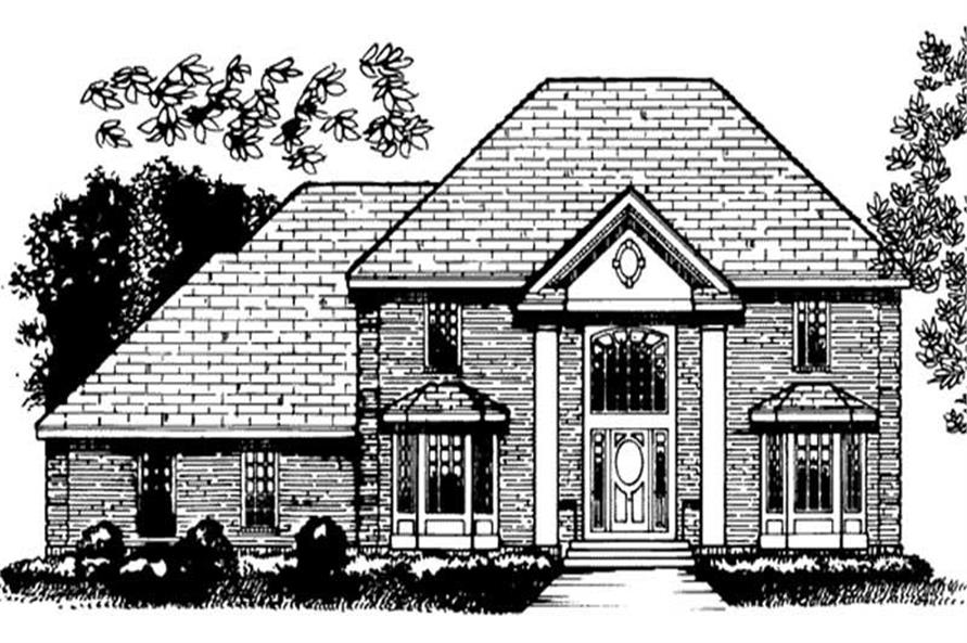 Main image for house plan # 20710