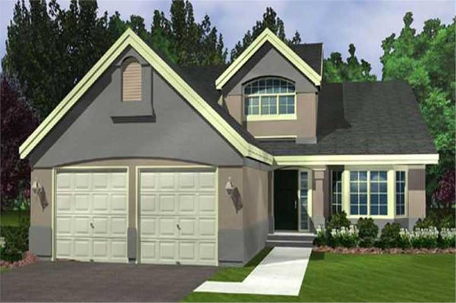 Main image for house plan # 21042