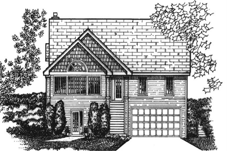 Main image for house plan # 20711