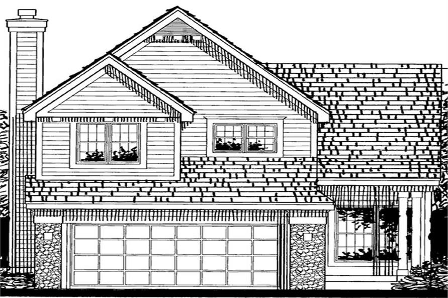 Main image for house plan # 20703