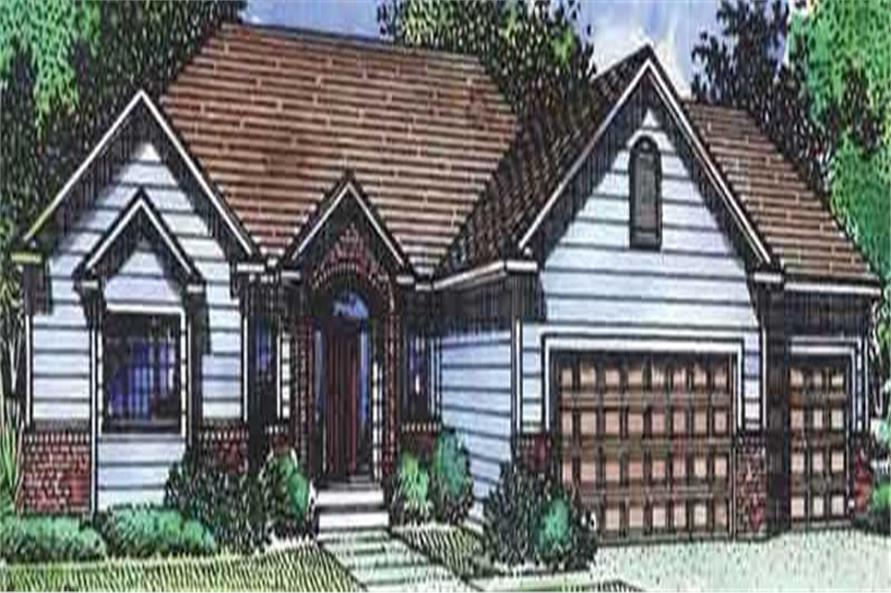 Main image for house plan # 20713