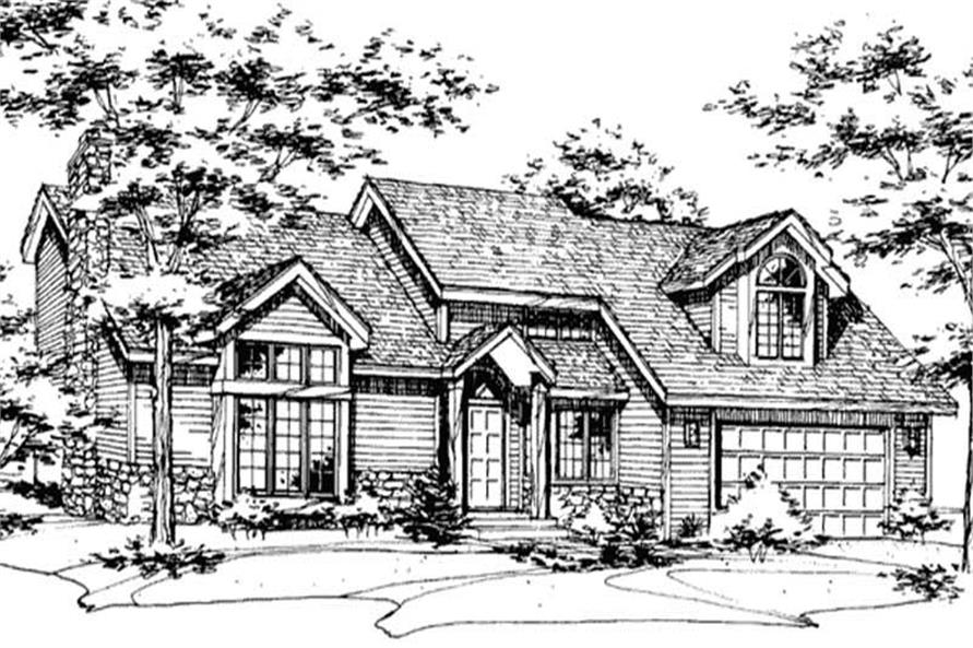 Main image for house plan # 20568