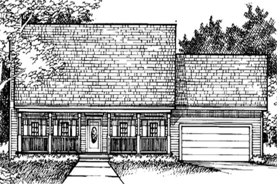 Main image for house plan # 20947
