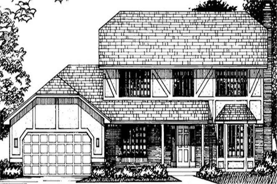Main image for house plan # 20949