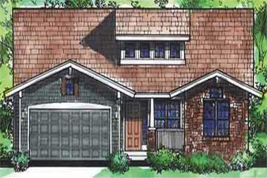 Main image for house plan # 20589