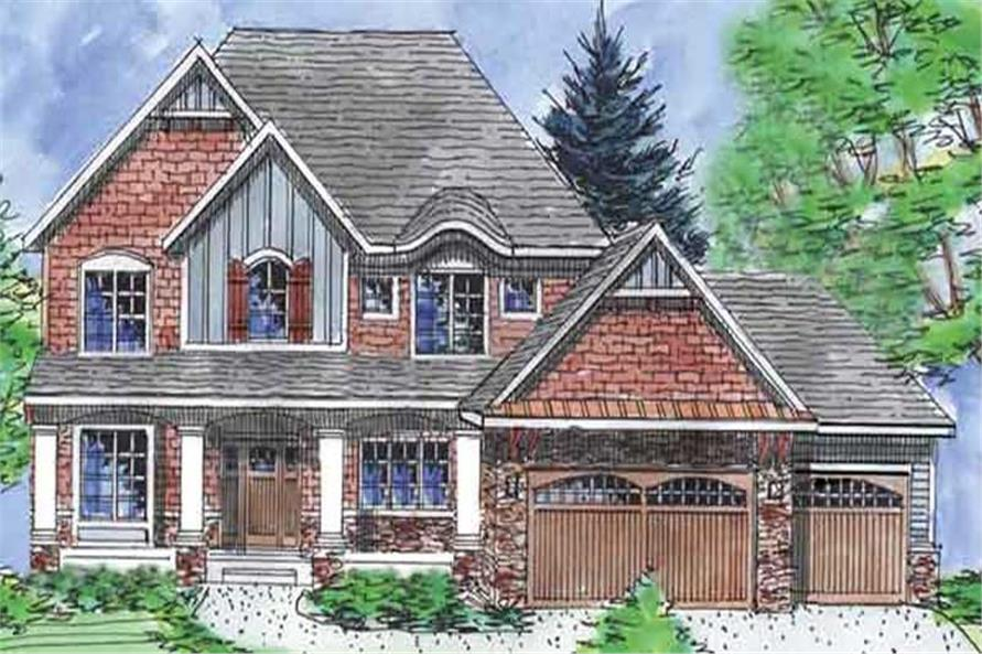 Main image for house plan # 20587