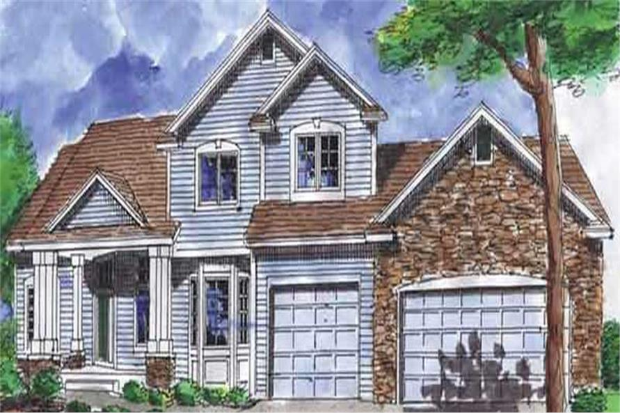Home Plan Rendering of this 3-Bedroom,4172 Sq Ft Plan -146-1969