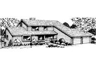 Main image for house plan # 20986