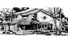 Main image for house plan # 20993