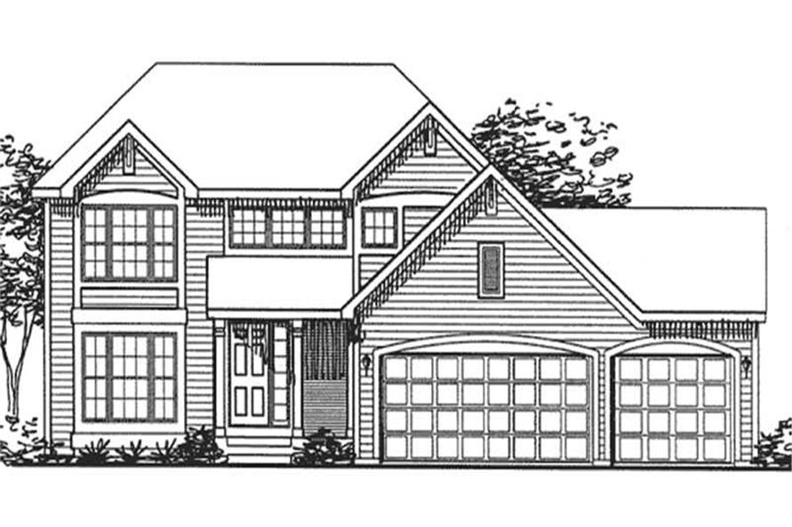 Main image for house plan # 20702