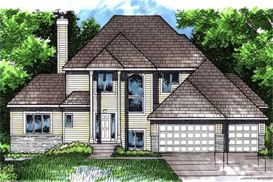 Main image for house plan # 21061