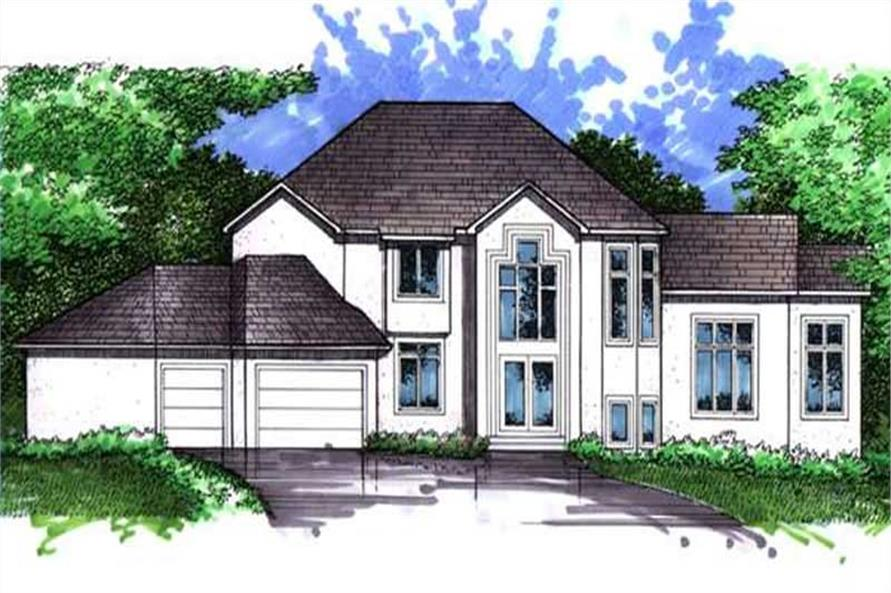 Main image for house plan # 21067