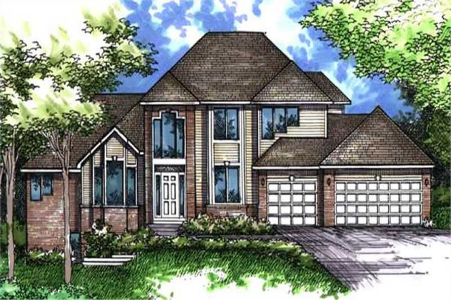 Main image for house plan # 21070