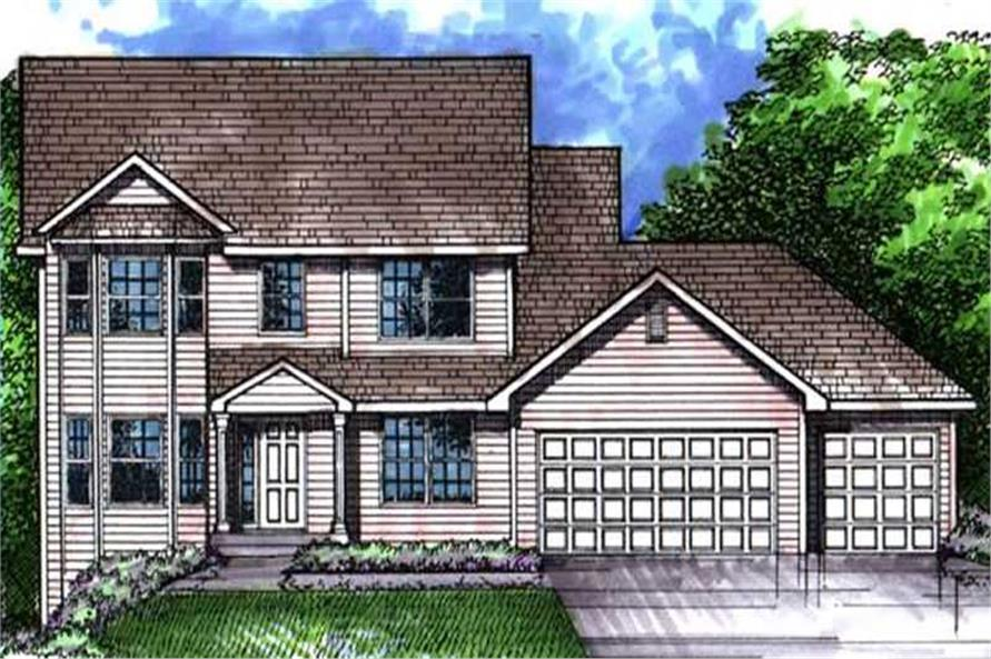 Main image for house plan # 21062