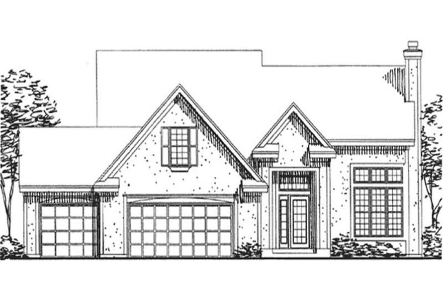 Main image for house plan # 20694