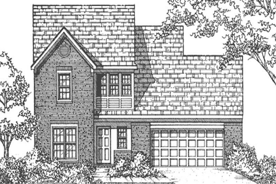 Main image for house plan # 21350