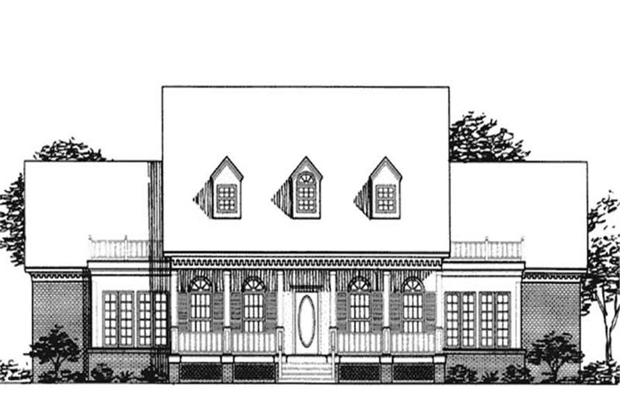 3-Bedroom, 2438 Sq Ft Colonial House Plan - 146-2010 - Front Exterior