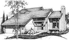 Main image for house plan # 21414