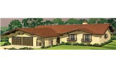 Main image for house plan # 21286