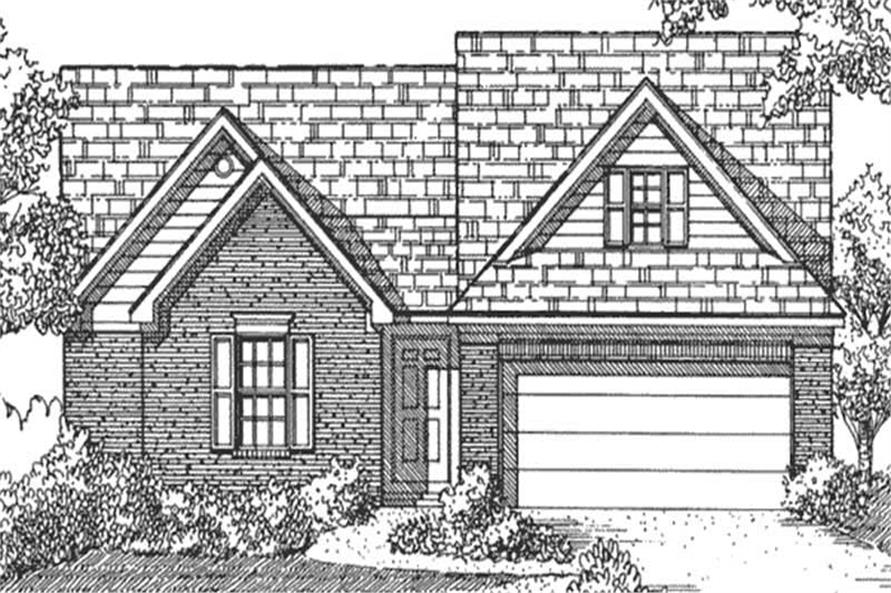 Main image for house plan # 21347
