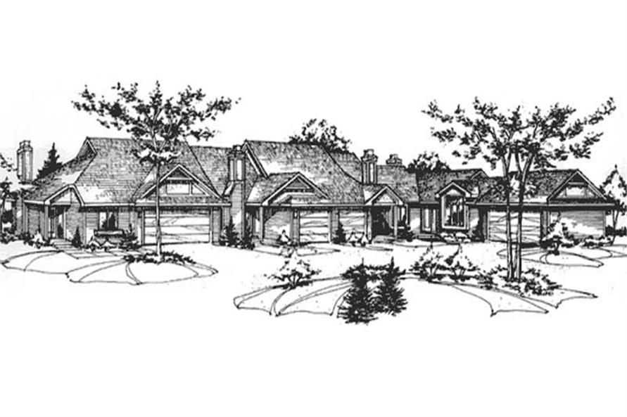 Main image for house plan # 21401
