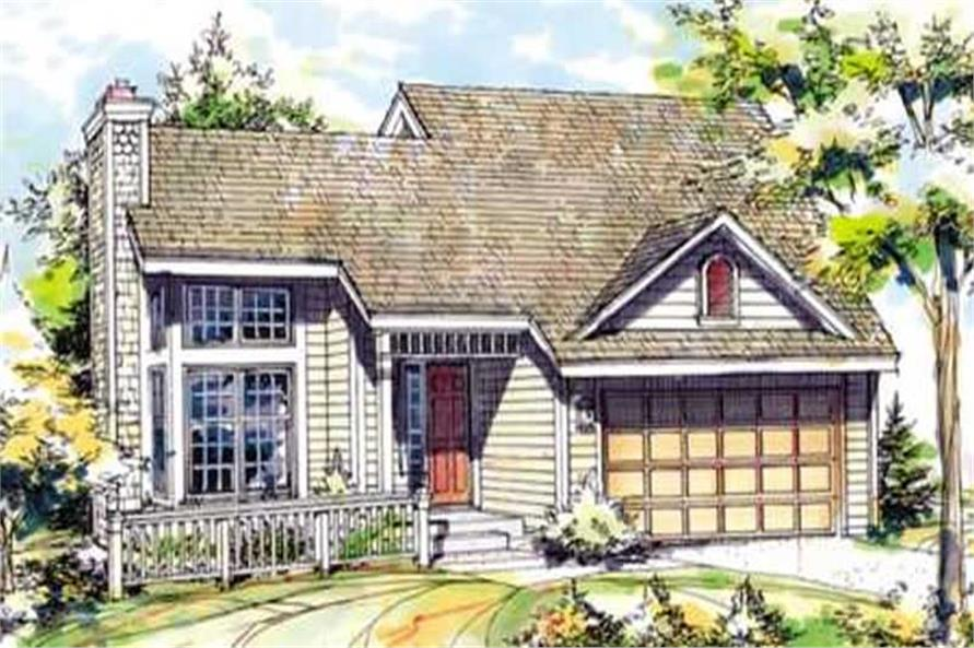 Main image for house plan # 21396