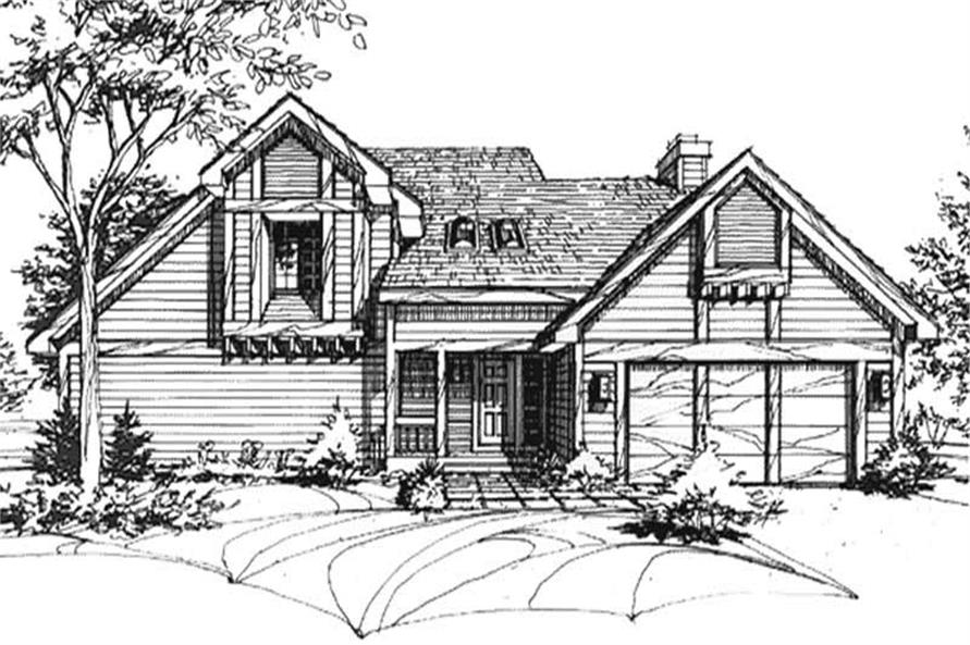 Main image for house plan # 21405